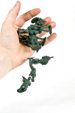 Soldado de brinquedo Foto de Stock Royalty Free