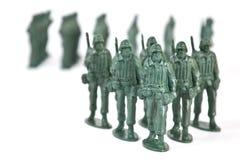 Soldado de brinquedo fotografia de stock