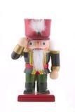 Soldado de brinquedo do Nutcracker isolado Imagens de Stock
