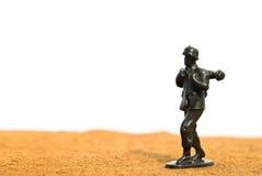 Soldado de brinquedo verde Imagem de Stock