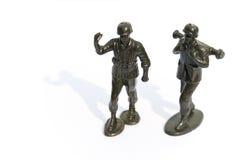 Soldado de brinquedo verde Imagem de Stock Royalty Free