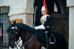 Soldado de caballería Imagenes de archivo