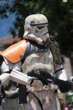 Soldado de caballería de tormenta Fotografía de archivo libre de regalías