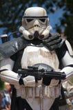 Soldado de caballería de tormenta Fotos de archivo libres de regalías