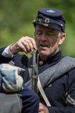 Soldado de infantaria da guerra civil Imagem de Stock Royalty Free