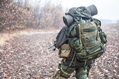 Soldado de Jagdkommando Imagens de Stock