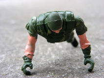 Soldado de juguete fotos de archivo
