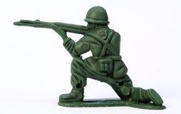 Soldado de juguete Foto de archivo libre de regalías