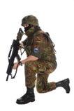 Soldado de la Bundeswehr (ejército alemán). Imagenes de archivo