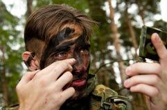 Soldado de la Bundeswehr (ejército alemán) (Alemania). Fotografía de archivo libre de regalías
