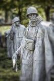 Soldado de la Guerra de Corea Fotografía de archivo