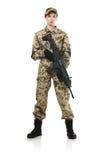 Soldado de la OTAN. Foto de archivo