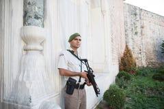 Soldado de la seguridad Foto de archivo libre de regalías