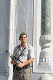 Soldado de la seguridad Fotos de archivo