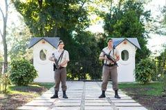 Soldado de la seguridad Foto de archivo