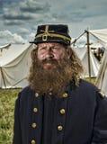 Soldado de la unión en Gettysburg Fotos de archivo libres de regalías
