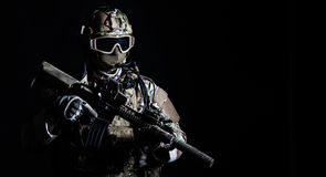Soldado de las fuerzas especiales fotos de archivo