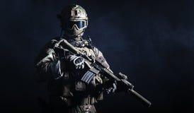 Soldado de las fuerzas especiales imagen de archivo libre de regalías