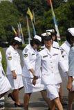 Soldado de las mujeres fotos de archivo