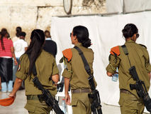 Soldado de las mujeres del IDA Foto de archivo libre de regalías