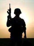 Soldado de los E.E.U.U. Fotos de archivo libres de regalías