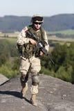 Soldado de los E.E.U.U. Imagen de archivo