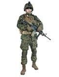 Soldado de los E.E.U.U. Fotografía de archivo libre de regalías