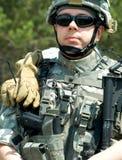 Soldado de los E.E.U.U. Fotografía de archivo