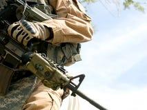 Soldado de los E.E.U.U. foto de archivo