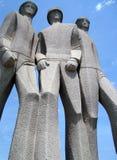 Soldado de piedra tres Foto de archivo
