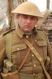 Soldado de WWI Ingleses Fotos de Stock
