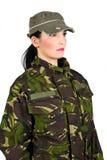 Soldado del ejército Imagen de archivo libre de regalías