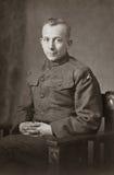 Soldado del ejército de la Primera Guerra Mundial Imágenes de archivo libres de regalías
