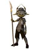 Soldado del Goblin Imágenes de archivo libres de regalías