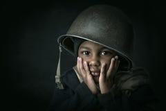 Soldado del muchacho Fotos de archivo libres de regalías