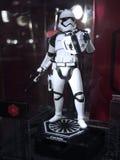Soldado del Stormtrooper en Toy Soul 2015 Imagen de archivo libre de regalías
