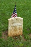 Soldado desconocido de la unión en el cementerio del confederado de Appomattox Fotografía de archivo libre de regalías