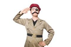 Soldado divertido Fotografía de archivo