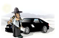 Soldado do estado ilustração royalty free