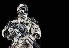 Soldado do exército do Cyber Imagem de Stock Royalty Free