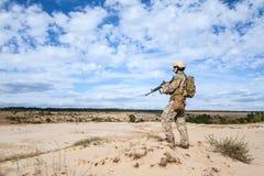 Soldado do grupo das forças especiais de exército dos EUA Imagem de Stock