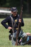 Soldado do norte da infantaria Imagem de Stock