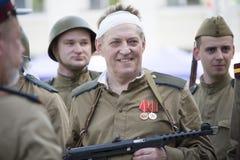 Soldado do russo foto de stock