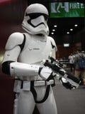 Soldado do Stormtrooper em Toy Soul 2015 Foto de Stock