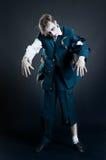 Soldado do zombi foto de stock royalty free