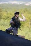 Soldado dos E.U. Fotografia de Stock Royalty Free