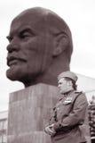 Soldado el día de la victoria Fotos de archivo libres de regalías