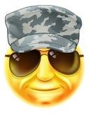 Soldado Emoji Emoticon Imagen de archivo libre de regalías
