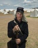Soldado en Gettysburg Imagen de archivo