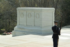 La tumba del soldado desconocido Foto de archivo libre de regalías